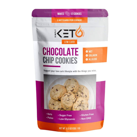 New And Improved Keto Chocolate Chip Cookie Mix