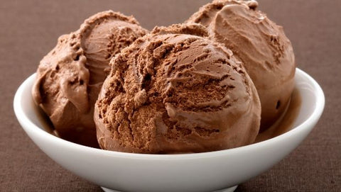 Low-Carb Chocolate Ice Cream