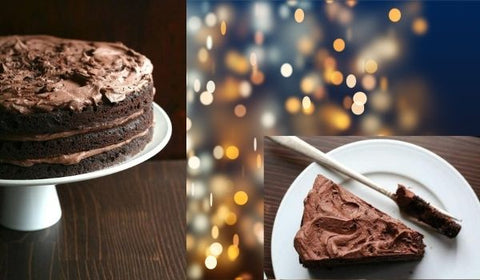 Keto Chocolate Layer Cake with Whipped Chocolate Ganache Frosting
