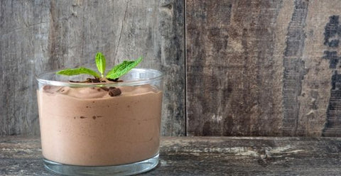 3 Ingredients Keto-Friendly Chocolate Mousse