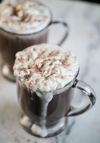 Creamy Low Carb Hot Chocolate.
