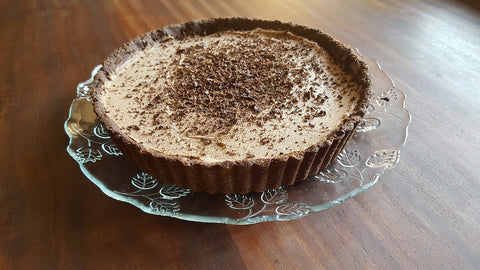 keto low carb chocolate cheesecake