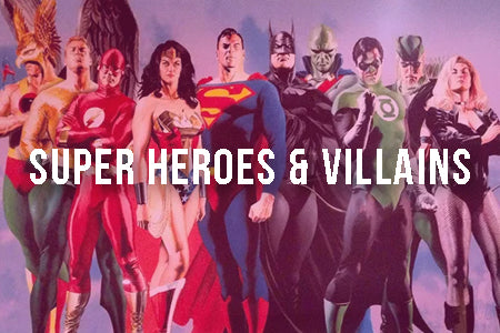 Super Heroes & Villains