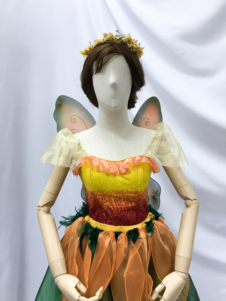 Sunset Fairy - Yellow & Green