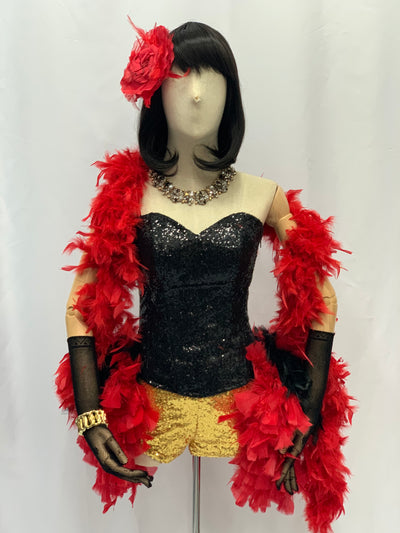 Burlesque Showgirl Costume | Awesome Costumes Singapore