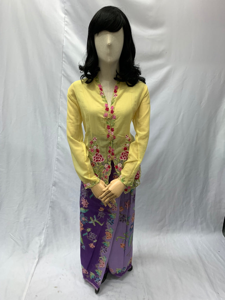 Cream Peony and Phoenix Yukata | Awesome Costumes Singapore