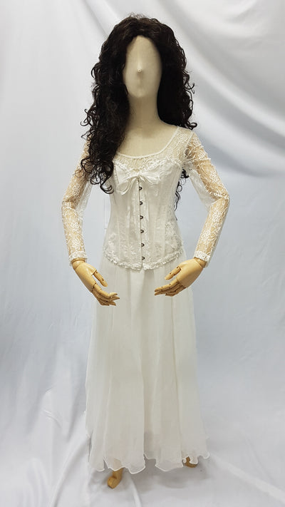 Christine, Phantom of the Opera, Lace top | Awesome Costumes Singapore