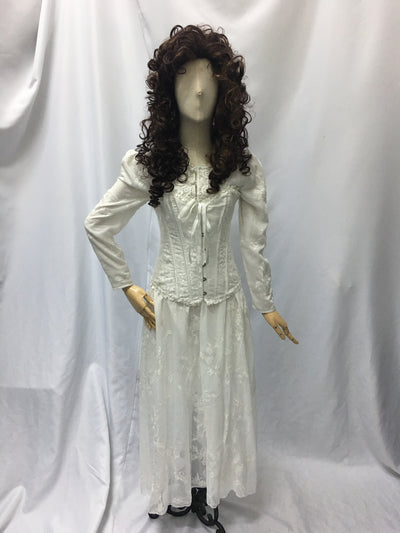 Christine, Phantom of the Opera, White Dress | Awesome Costumes Singapore