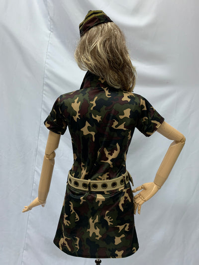 Military Camouflage Print Dress | Awesome Costumes Singapore