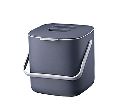 Pleasing Harra Home Double Layer Waste Compost Bin With Lid Odor Free Food Trash Container Compostable Bin Indoor Composter Caddy Box Garbage Pail Charcoal Download Free Architecture Designs Parabritishbridgeorg