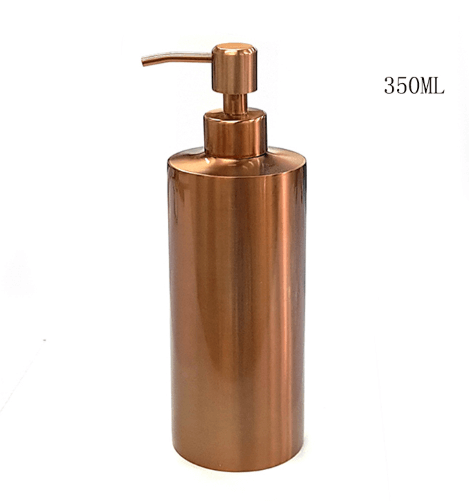 HARRA HOME Elegant Stainless Steel Liquid & Soap Dispenser For For Kitchen Or Bathroom Countertops
