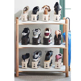 HARRA HOME Premium 3step Adjustable Magic Shoe Organizer, Pack Of 5