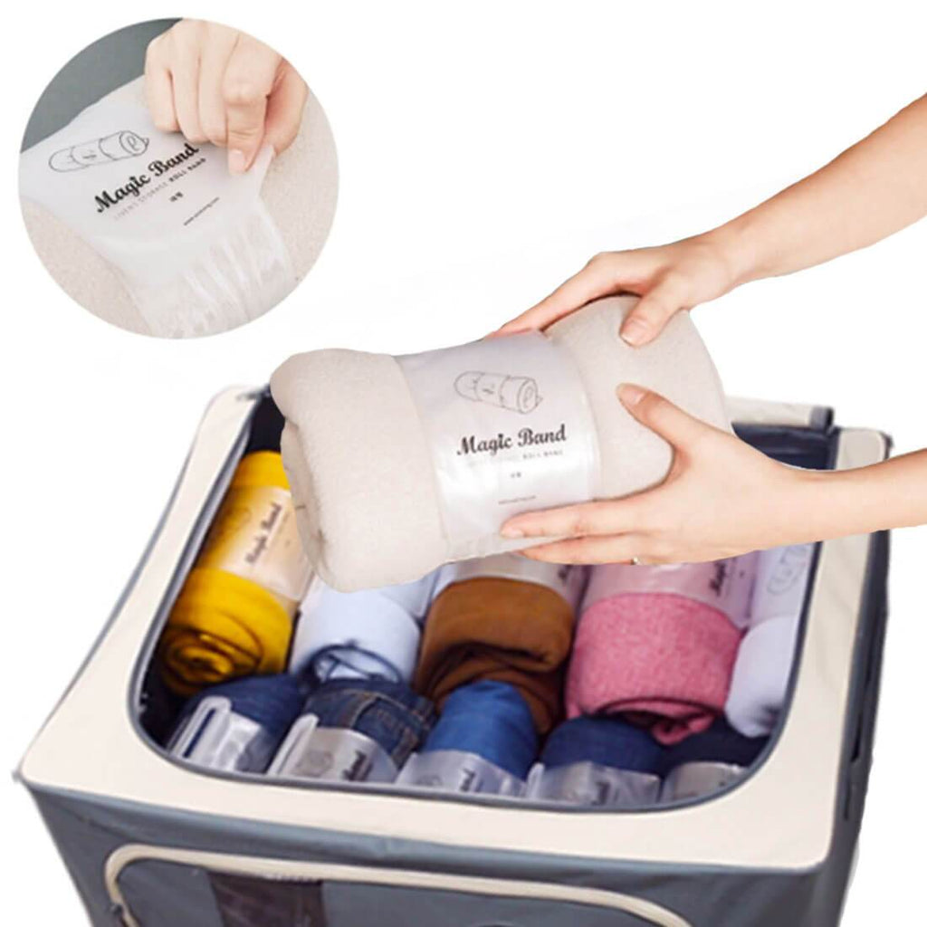 HARRA HOME Tidying Up Magic Band - Dresser Drawer And Closet Storage Organizer