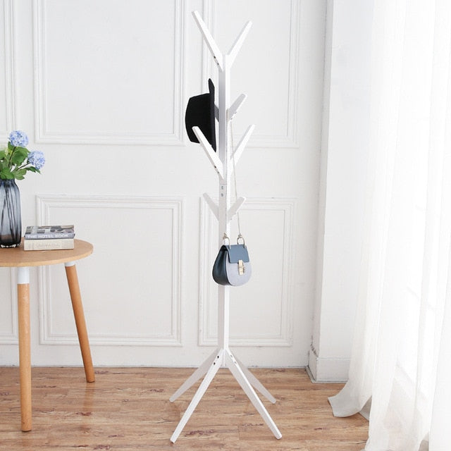 Fashion Furniture Hat Rack Solid Wood Hat Stand for Living Room, Display Stands Scarves Hats Bags Coat Shelf Clothes Hanger