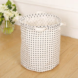 New Waterproof Cotton linen foldable Laundry Basket Dirty clothing Storage box Kids Toy Organizer tool storage organizer