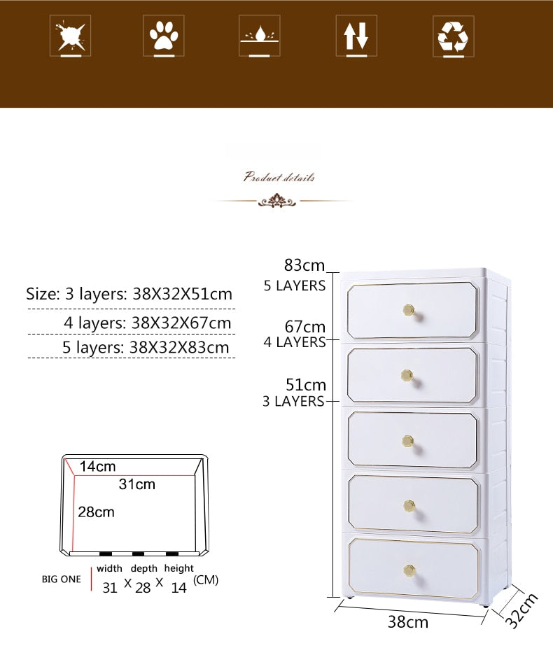 Nordic Wardrobe Cabinet With Closet Wardrobe Baby Bedroom Furniture Storage Box Cabinet