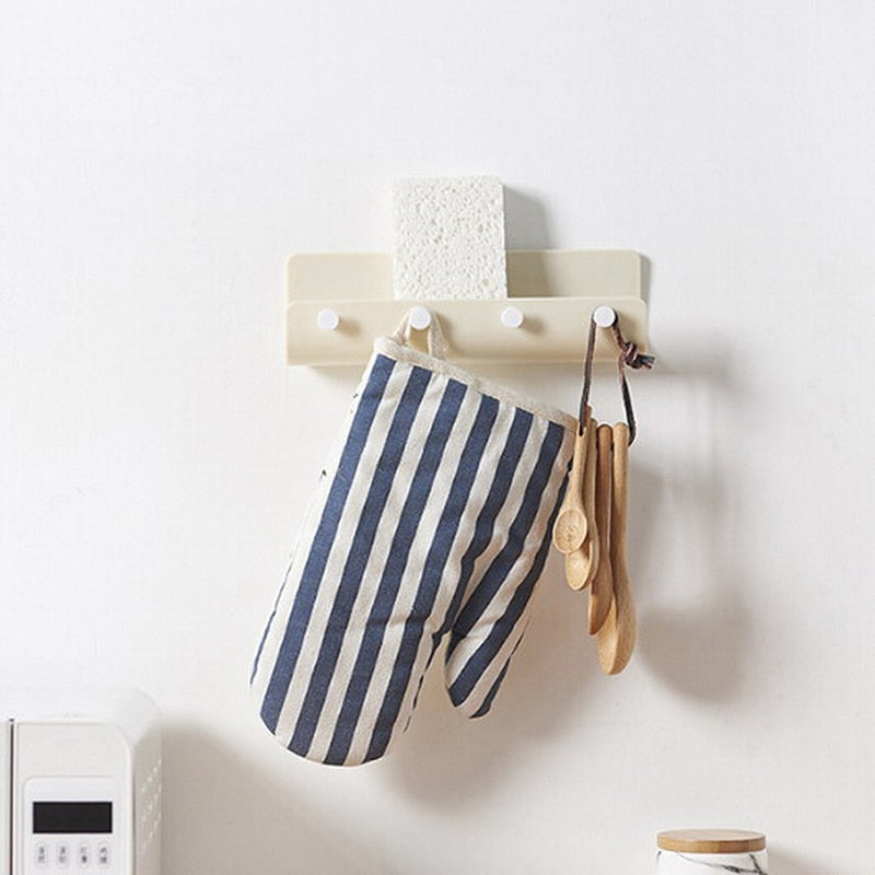 Creative Keyboards for hanging keys, Modern Key Holder Hanger with Adhesize Hooks for Kitchen Bathroom Home Wall Organizer