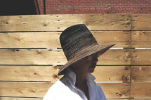 Load image into Gallery viewer, philippe urban,hat,montreal ,canada,fedora,straw,sewn straw,swiss braid,millinery,hatmaker
