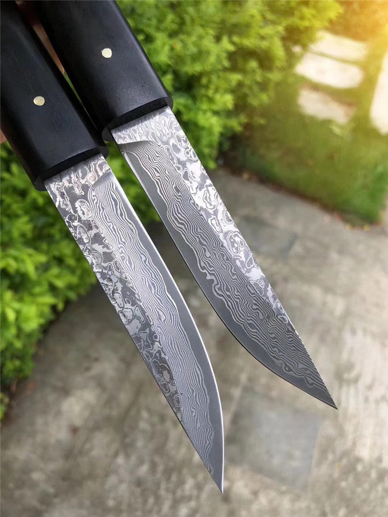 The okamoto warrior damascus pocket samurai knife 20 CM
