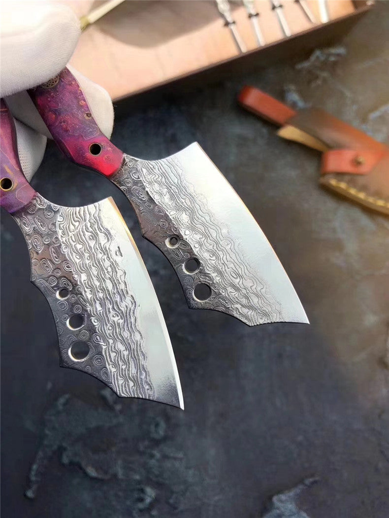 The dragonrita Damascus steel pocket knife