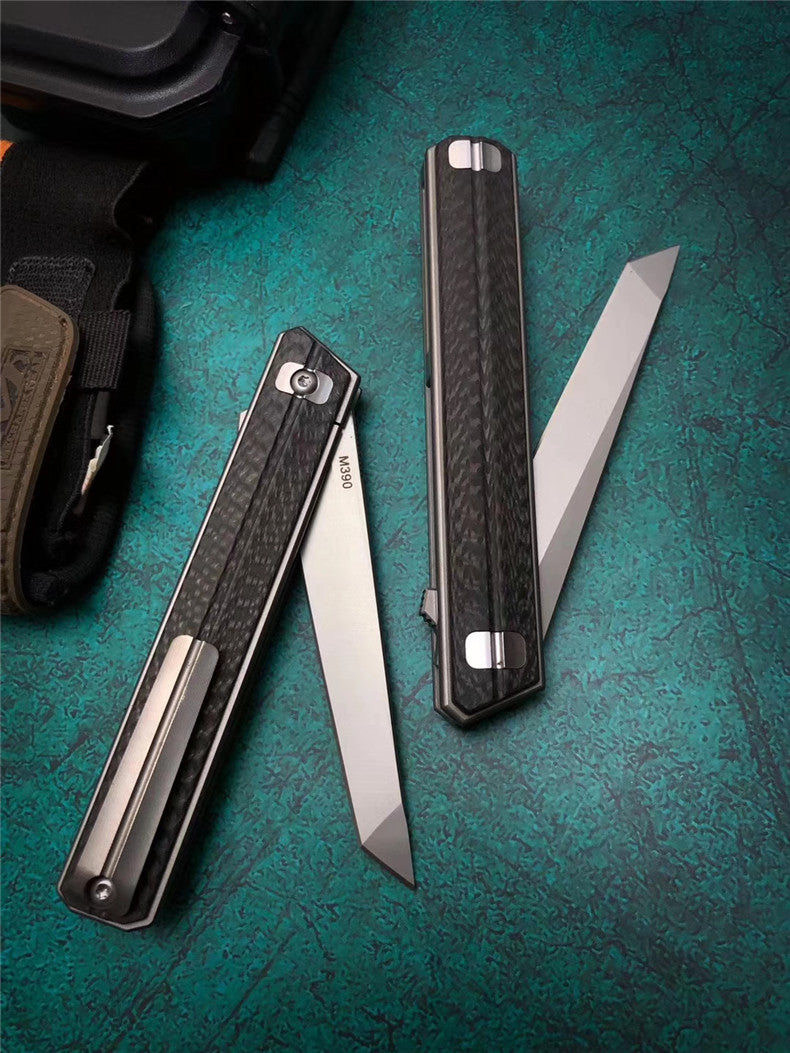 The Quartermaster M390 Folding knife