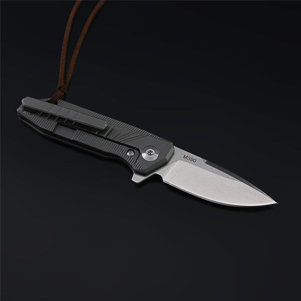 The Bumblebee M390 Steel Folding Knife
