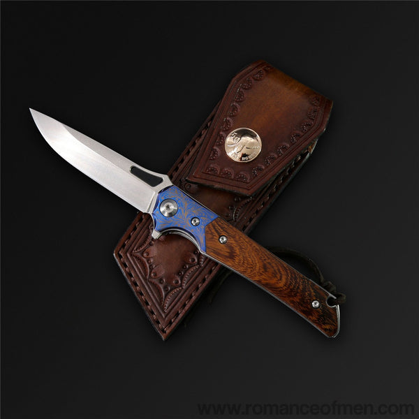 The Refine M390 Steel Folding Knife-Romance of Men