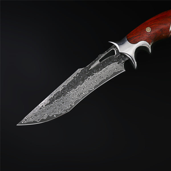 The Pegasus Damascus Steel Fixed Blade