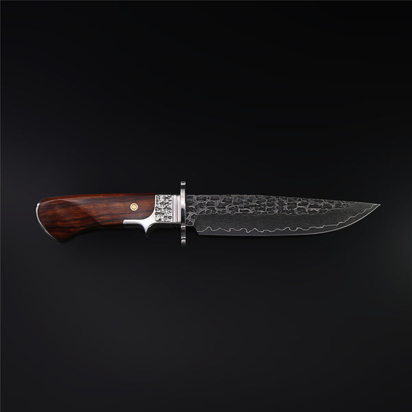 The Craftsman Damascus Steel Fixed Blade
