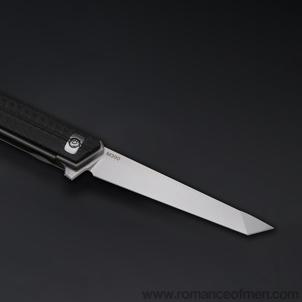 The Quartermaster M390 Folding knife-Romance of Men