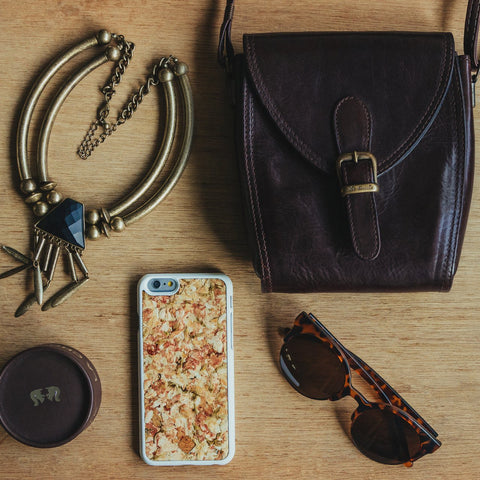 Organic Jasmine iPhone case