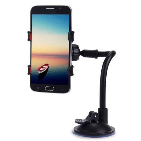Universal Car Phone Holder - 360 Degree Rotation
