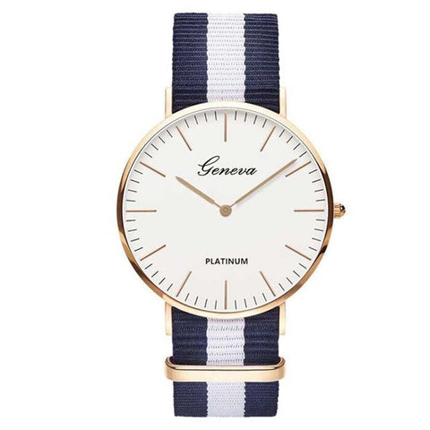 Luxury White Face Watch