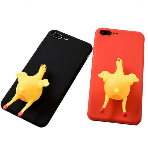 Squishy Chicken iPhone Case