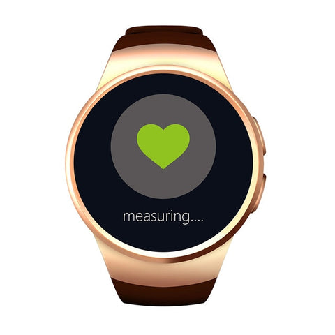 KW18 Smartwatch Bluetooth 4.0 Heart Rate Monitor