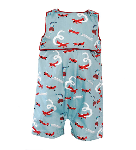 airplanes short romper