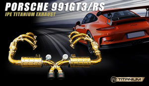 PORSCHE 911 / 911.2 GT3 / GT3 RS IPE INNOTECH PERFORMANCE EXHAUST
