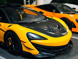 MCLAREN 600LT 1016 INDUSTRIES - BUMPER CANARDS