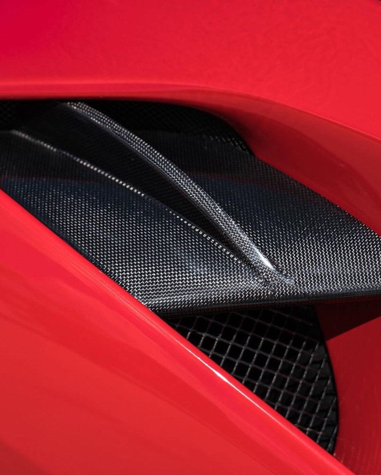 FERRARI 488 1016 INDUSTRIES FRONT AERO LIP
