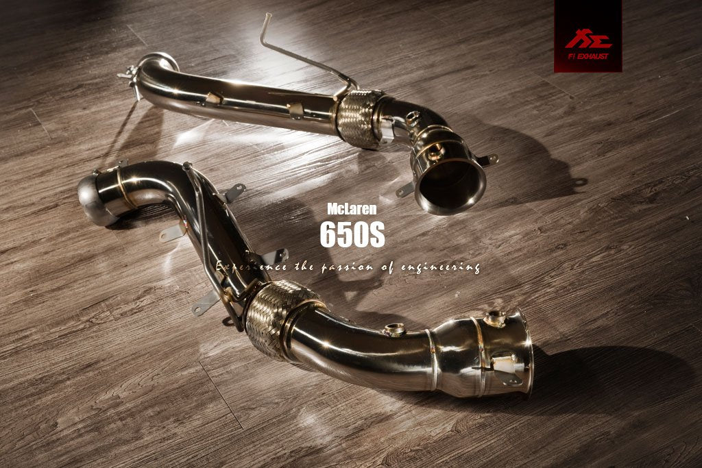 MCLAREN 650s FREQUENCY INTELLIGENT EXHAUST