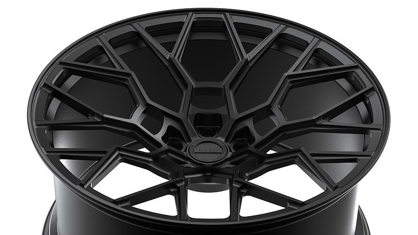 LAMBORGHINI AVENTADOR S NERO DESIGN FORGED WHEELS NDS-1
