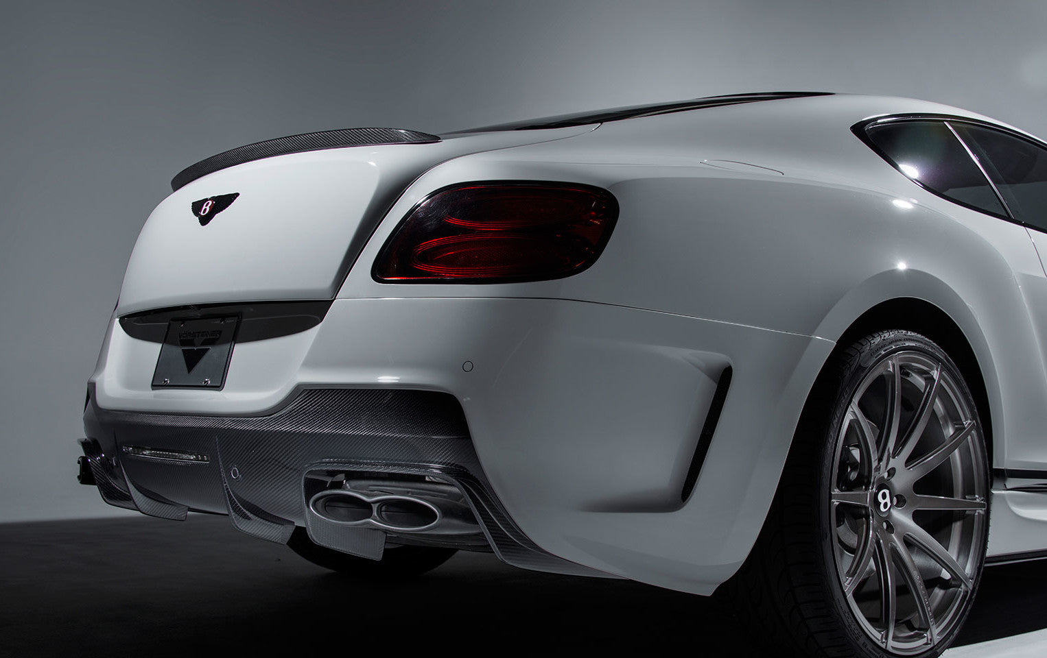 BENTLEY CONTINENTAL GT V8 FACELIFT BR AERO VORSTEINER REAR BUMPER
