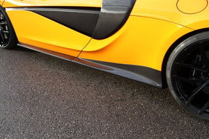 MCLAREN 570S / 570GT NOVITEC - SIDE PANEL / SIDE SKIRT SET (CARBON)
