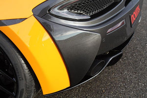 MCLAREN 570S / 570GT NOVITEC - REAR BUMPER SIDE COVERS (CARBON)