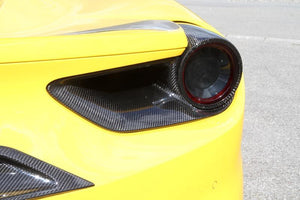 FERRARI 488 NOVITEC - REAR AIR OUTLETS (SIDE)