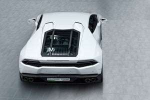 LAMBORGHINI HURACAN CAPRISTO ENGINE / BONNET GLASS & CARBON COVER