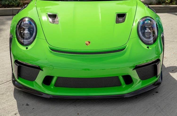 PORSCHE GT3 RS 1016 INDUSTRIES HOOD VENTS