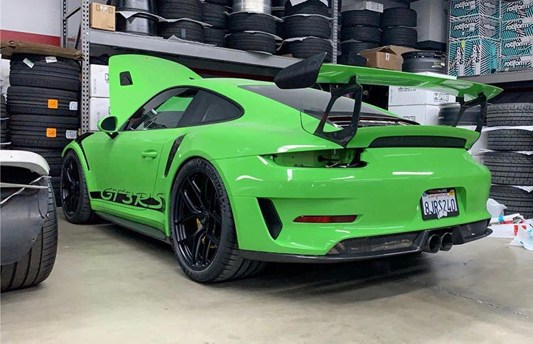 PORSCHE GT3 RS 1016 INDUSTRIES REAR BUMPER VENT SURROUND