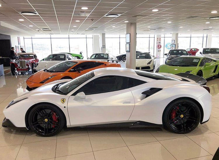 FERRARI 488 1016 INDUSTRIES SIDE SKIRTS
