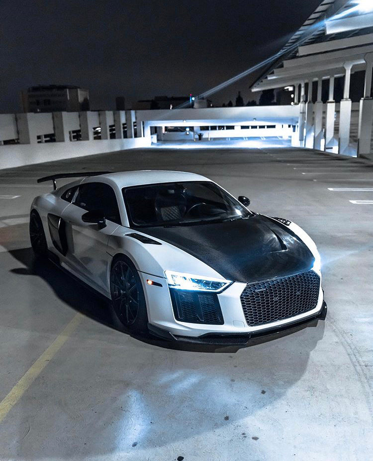 AUDI R8 V10 1016 INDUSTRIES - CARBON HOOD / BONNET